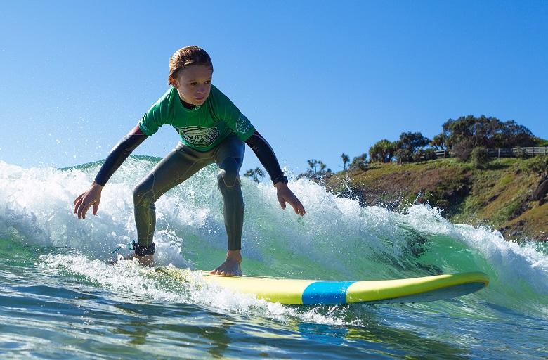 Surfing Grom